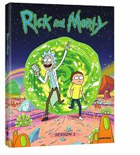 Rick and Morty Collection Complete First Season 1 DVD SET Series TV Show Episode