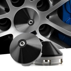"""4x 58mm 2.29"""" The Mugen Wheel Hub Center Caps for Civic SI #08w14-sel-7000-A3"""