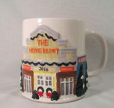 The Home Depot 2016 Christmas Mug, Collectible Coffee Mug