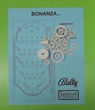 1976 Bally Bonanza pinball / bingo rubber ring kit
