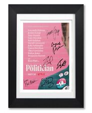 THE POLITICIAN CAST SIGNED POSTER TV SHOW SERIES SEASON PHOTO AUTOGRAPH GIFT