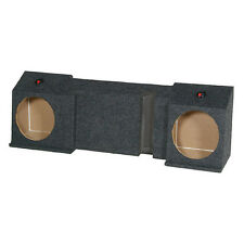 EMPTY Dual 10 SubWOOFER Sub Speaker BOX Under seat Downfiring Avalanche escalade
