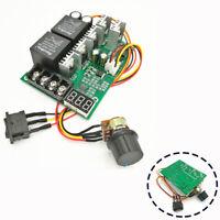 DC 12/24/36V PWM Motor Speed Controller Reversible Switch Regulator AU