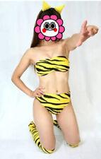 Urusei Yatsura Lum Lamu Cosplay Hairpin + Shoe cover + Clothing Costume Wig Sa