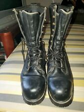 Hooffman's Boots Size 11.5 Steel Toe Color Black