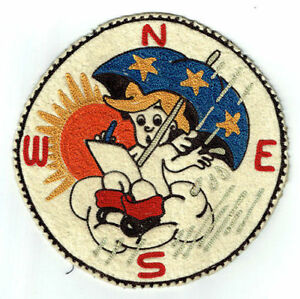 3rd Weather Squadron --  WWII squadron patch Disney design