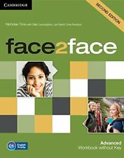 face2face Advanced Workbook without Key, Tims, Nicholas, Very Good condition, Bo