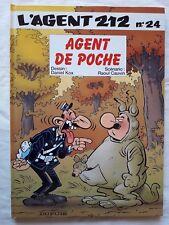 L'Agent 212 - T24 - Agent de Poche - Cauvin / Kox - EO