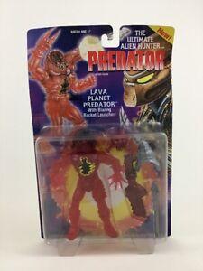 """Lava Planet Predator Ultimate Alien Hunter 5.5"""" Figure Vintage 1994 Kenner Toy"""