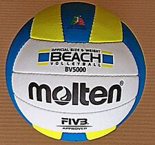Pallone Beach Volley Molten Bv5000 Fibv Approved 2016 in Negozio Mikasa Select