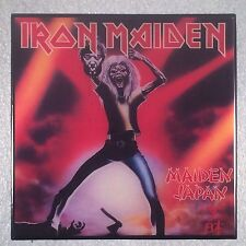 IRON MAIDEN Maiden Japan Record Cover Art Ceramic Tile Coaster