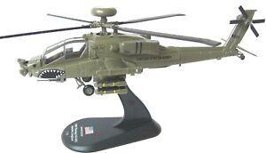 helicopter Boeing AH-64D Apache Longbow diecast 1:72 metal