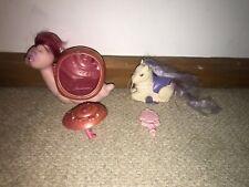 Vintage Keypers Tonka - Fancy the Snail (Damaged Shell), Joyful Key & Glitter