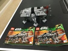 Lego Star Wars 75019, AT-TE incomplete, No figs, missing top gun