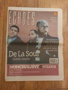 ECHOES MAGAZINE 22 JUNE 1996 DE LA SOUL SIMPLETON EVELYN KING ERNEST RANGLIN