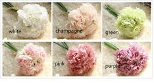 5Heads Artificial False Peony Fabric Silk Flower Bouquet Home Garden PARTY Decor