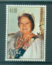 H.M. QUEEN ELIZABETH MOTHER 80th BIRTHADAY - NIUE 1980 set