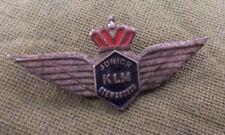 #D324. AIRLINE CLUB LAPEL BADGE - KLM JUNIOR STEWARDESS