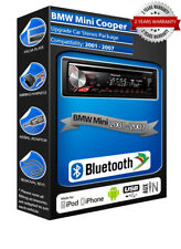 BMW Mini Cooper Pioneer DEH-3900BT car stereo, USB CD MP3 AUX In Bluetooth kit