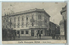 CARTOLINA 1908 CAFFE' RISTORANTE RENA BUSTO ARSIZIO 799/A