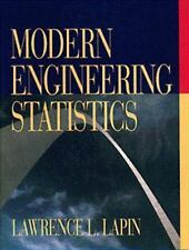 Modern Engineering Statistics by Lapin, Lawrence L.