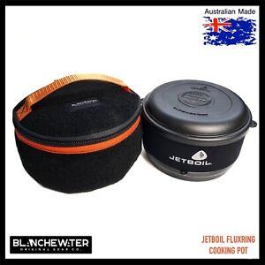 Jetboil FLUXRING 1.5L Cooking Pot Bootliner Bag Black / Orange