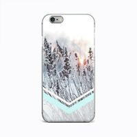 Winter Nature New iPhone X XS Max XR Silicone Gel Case Geometric iPhone 7 8 Plus