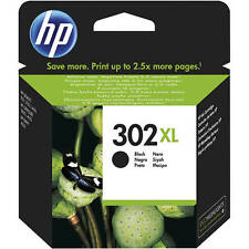 Genuino HP Hewlett Packard 302xl Alta Capacidad Cartucho de tinta Negro