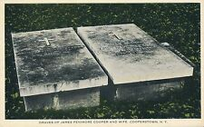 COOPERSTOWN NY – James Fenimore Cooper and Wife Graves
