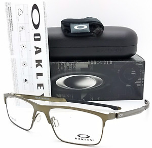 New OAKLEY Titanium Eyeglasses CARTRIDGE OX5137-0254 54-17 137 Pewter Frames