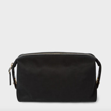 Paul Smith Wash Bag - NEW Men's Black Travely Travel Washrag UK Seller RRP:£179