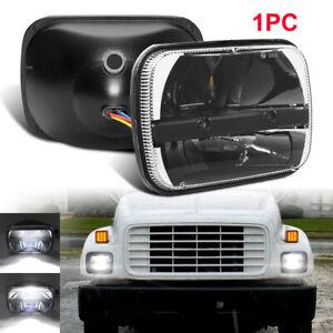 "DOT 5x7"" 7x6"" LED Headlight HiLo Sealed Beam for GMC C4500 C5500 C6500 TopKick"