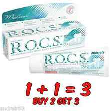 Toothpaste R.O.C.S. Remineralizing gel Medical Minerals ROCS 35 ml Oral Care 1+1