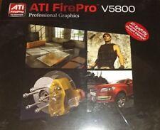 AMD ATI FirePro V5800 Grafikkarte - NEU- 100-505605 1GB PCIe   2xDP   1xDVI OVP