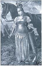 Valkyrie Norse Mythology, 7x5 Inch Print