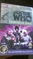 Doctor Who - Frontier in Space - very rare signed autograph  RAY LONNEN GARDINER