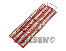 """Ferrocarril Bandeja Grande socket para rack conjunto contiene 80 Tomas de 1/4 """"de 3/8"""" de 1/2 """"caja de herramientas de almacenamiento"""