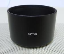 52 mm Metal Camera Lens Hood for 52mm Filter Thread Tele Lens MH-52T