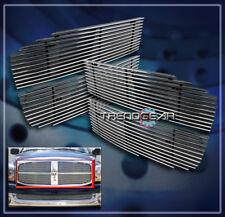 2006 2007 2008 DODGE RAM 1500 2500 3500 2DR 4DR FRONT UPPER BILLET GRILLE GRILL