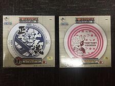 ONE PIECE MARINE SMOKER,TONY TONY CHOPPER Art Plate Dish Ichiban Kuji BANPRESTO