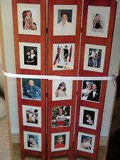 Photo Screen three panel double sided