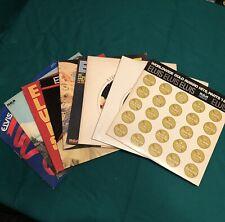 Lot of 9 Elvis Presley Vinyl Records 1970-1978