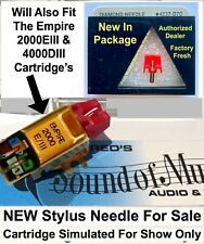 NEW Empire 2000E/III Replacement Needle Stylus Diamond Pfanstiehl 4 237 D7 best