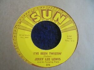 Jerry Lee Lewis - I've Been Twistin' 1962 USA 45 SUN 1st