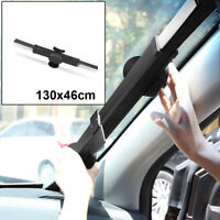 Sunshade Car Retractable Curtain UV Protection Front Windshield Sun Visor Block