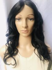 WANNABE 100% Human Hair Wig Body Wave Natural Look Tangle Free Silky Black