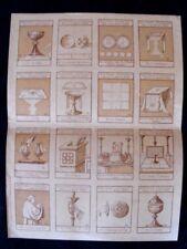 Une Planche de 16 bons points liturgiques Edition Charles Beyaert Bruges 1922