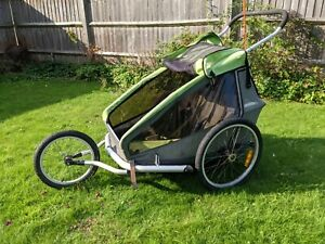 Croozer Kid for 2 - Bike Trailer, Pushchair, Stroller, Jogger - Festival trolley