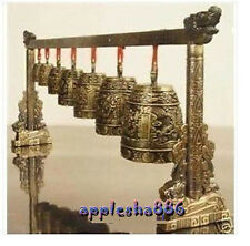 Chinese Musical Instrument Bronze Dragon Bell Rare Sale