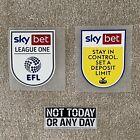 Sheffield Wednesday | EFL Sky Bet League One 2021/22 Size Shirt Sleeve Patches